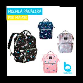 MOCHILA-PAÑALERA-MAYORISTA-BABYFEES