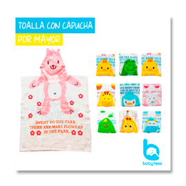 TOALLA-CAPUCHA-MAYORISTA-BABYFEES